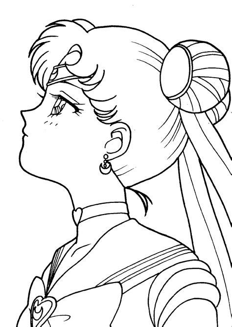 sailor moon coloring book tsuki matsuri the sailormoon coloring book archive