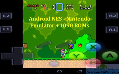 nintendo for android android nes nintendo emulator with 1090 roms free