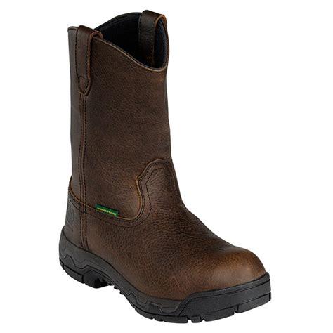 deere work boots for deere 174 11 quot wct ii waterproof pull on work boots