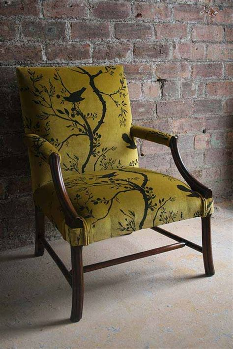 Upholstery Fabric For Kitchen Chairs by 25 Best Ideas About Chair Upholstery On