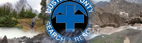 Co Search Custer County Search Rescue
