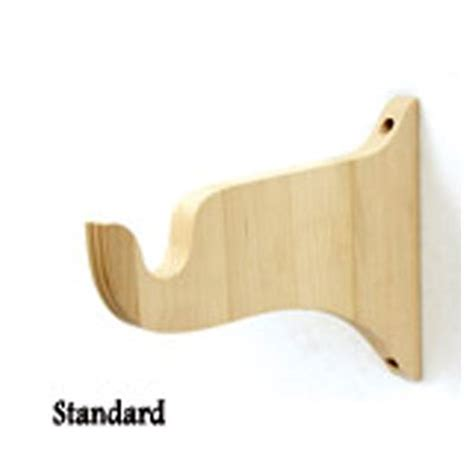 unfinished wood curtain brackets pinterest the world s catalog of ideas