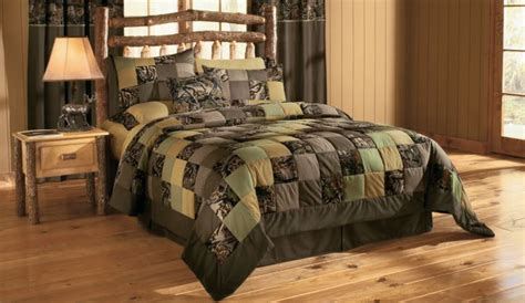 Camo Patchwork Quilt - pin camouflage sets on