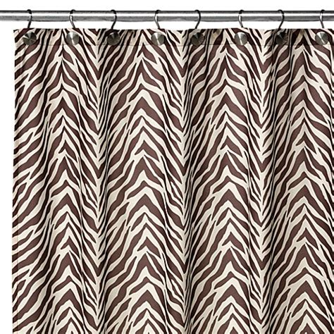 2 in 1 shower curtain watershed single solution 174 2 in 1 zebra fabric shower