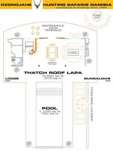 Hunt Box Floor Plans Hunting Lodge Namibia Africa