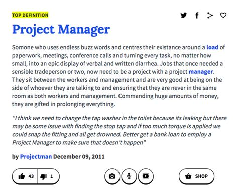 urban dictionary buzz what your job says about you according to urban dictionary