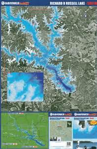 carolina lakes map south carolina lakes