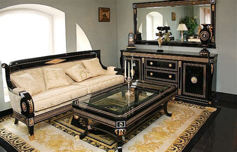 dallas classic italian living room furniture 187 living room set in empire styletop and best italian