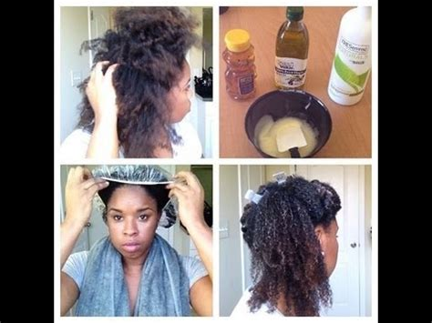natural deep hair conditioner youtube deep conditioning on dry natural hair youtube