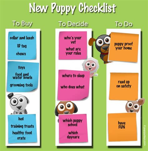 what do you need for a puppy best 25 new puppy checklist ideas on new puppy puppies and