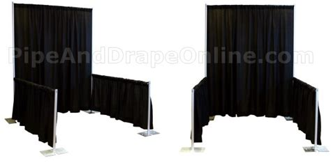 pipe and drape online making an impression with pipe and drape trade show booths