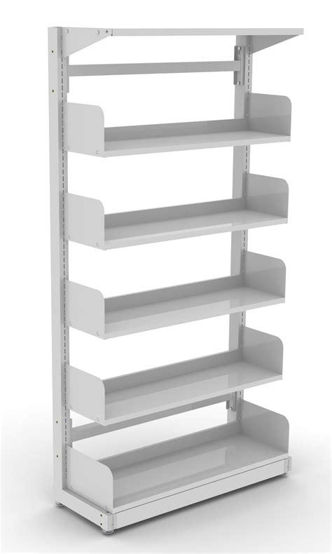 Library Shelving Single Sided Library Shelving Dva Fabrications