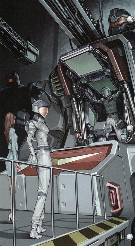 Kaos Gundam Gundam Mobile Suit 53 getting into a gundam cockpit gundam wing