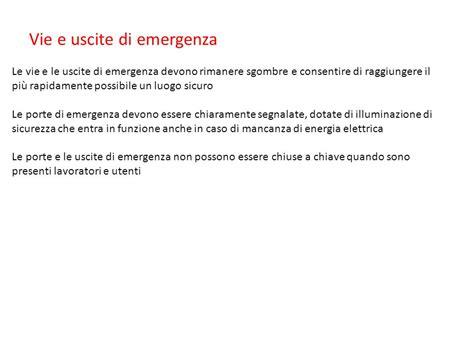 ova lade di emergenza lade di emergenza lade di emergenza per casa impianto