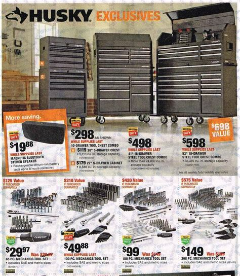 What Time Does Home Depot Open Up by Black Friday 2016 Home Depot Ad Scan Buyvia