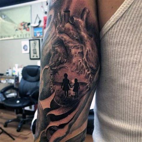 daughter tattoos for men 100 family tattoos for commemorative ink design ideas
