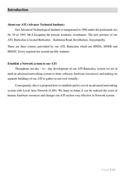 network design proposal introduction lan proposal