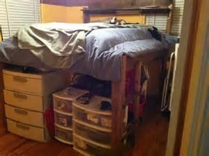 Elevated Bed Frame Design Loft Bed