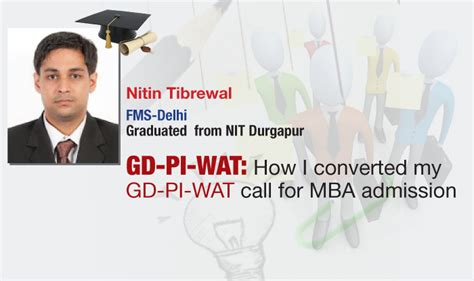 Fms Delhi Part Time Mba Eligibility by Gd Pi Wat How Nitintibrewal Cracked Fms Delhi Gd Pi