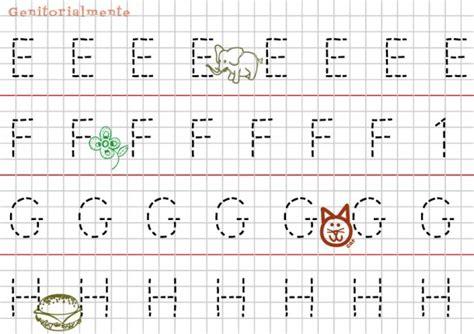 delle emozioni lettere pregrafismo prescrittura lettere alfabeto genitorialmente