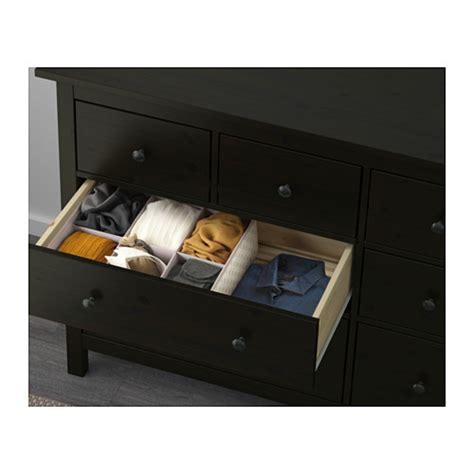 Hemnes 8 Drawer Dresser Black Brown by Hemnes Chest Of 8 Drawers Black Brown 160x95 Cm