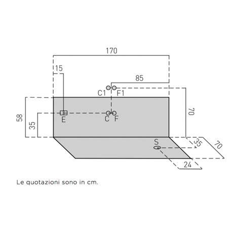 vasca da bagno rettangolare vasca da bagno rettangolare 170x70x55 cm san marco
