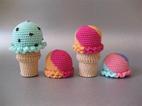 crochet ice cream cone skip   lou