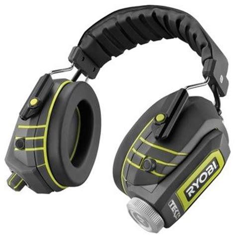 rugged earbuds ryobi rugged headphones ubergizmo
