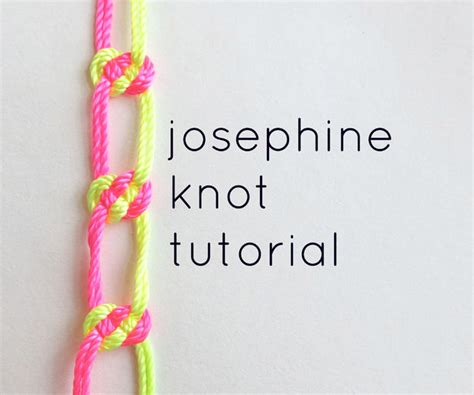 How To Make A Macrame Knot - knotting