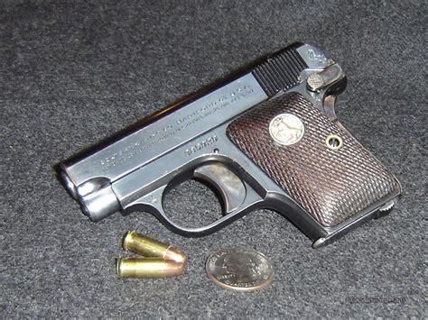 Colt Auto by Colt 25 Auto M 1908 Vest Pocket Pistol For Sale