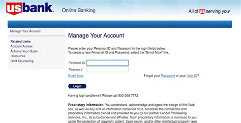 us bank home mortgage login usbank page