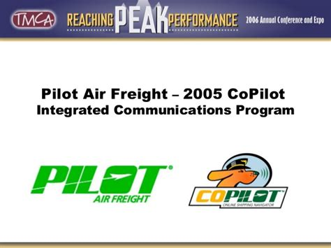 pilot air freight co pilot presentation