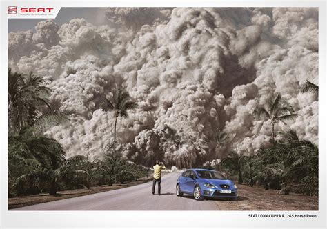 seat advertising seat print advert by ogilvy volcano ads of the world