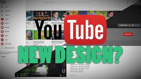 youtube layout change 2016 new youtube design layout 2016 youtube