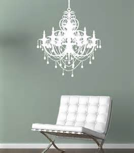 wall chandelier chandelier wall decal by alphabet garden designs