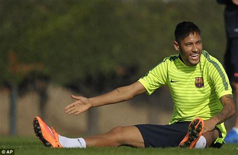 barcelona superstar neymar reveals latest luis suarez reveals it was emotional steven