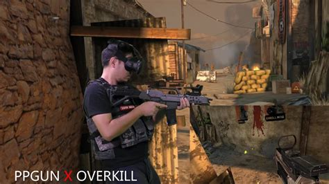 overkill vr game quot overkill vr quot now supports the ppgun controller tgg