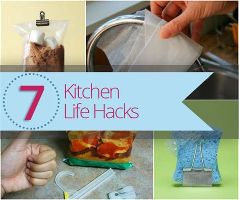life hacks for home save time with 7 kitchen life hacks