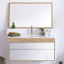 meuble salle de bain bois massif espace aubade