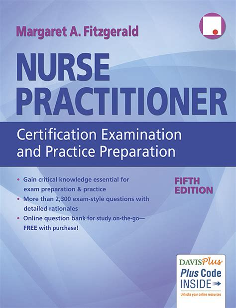 practitioner certification examination and practice preparation book s detail fitzgerald health education associates