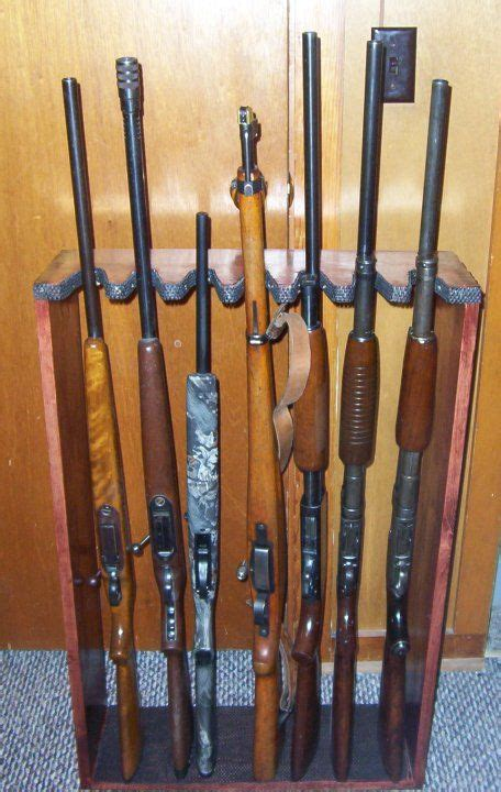 plans   gun rack vertical woodworking projects plans