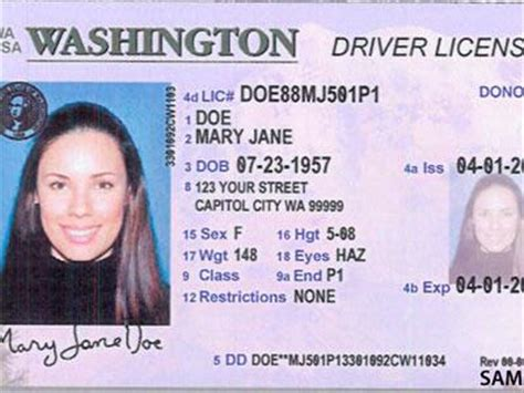 washington state id card template acceptable forms of id aacea