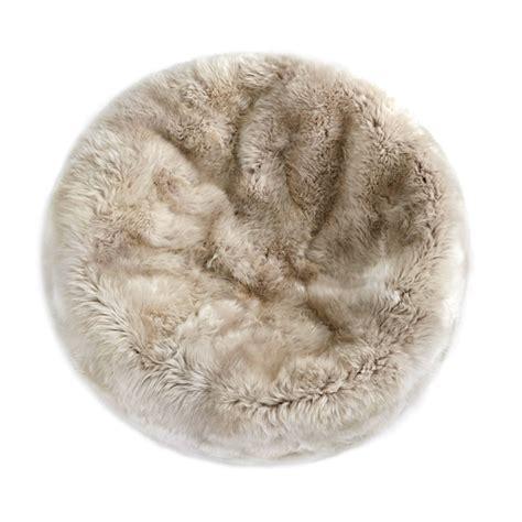 sheepskin bean bag fibre by auskin sheepskin bean bag chair linen 3 unfilled