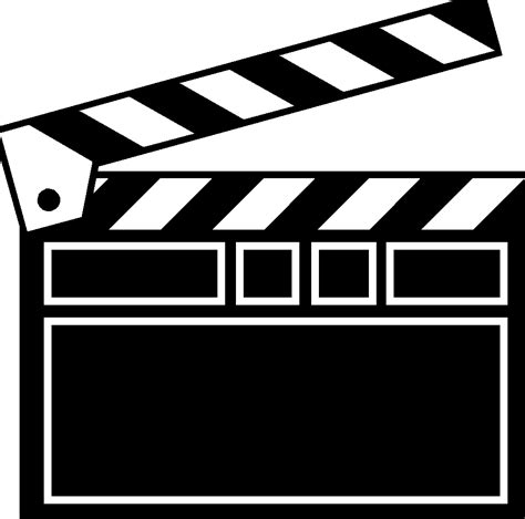 Clapboard Template Movie Clapboard Template Clipart Best