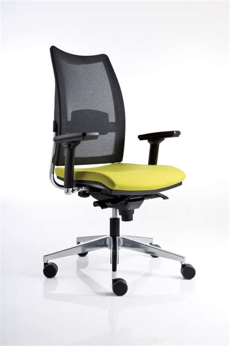 task office chair with mesh backrest idfdesign