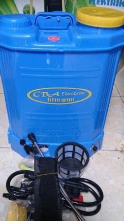 Alat Semprot Tanaman Murah tanki elektrik cba alat semprot tanaman praktis irit dan