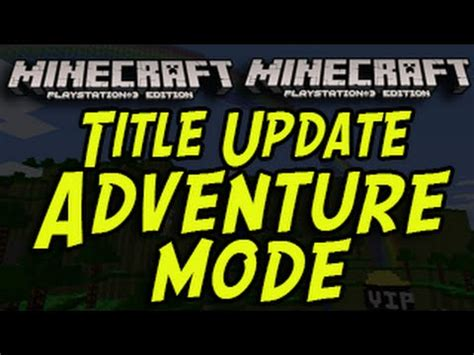 game mode adventure minecraft xbox minecraft ps3 ps4 xbox new game mode adventure