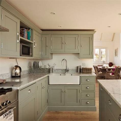 farrow and ball paint pigeon kitchen pinterest