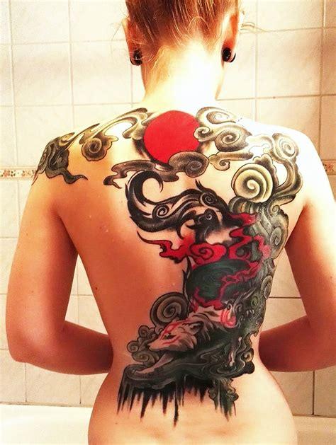 okami back tattoo by kurogn deviantart com on deviantart