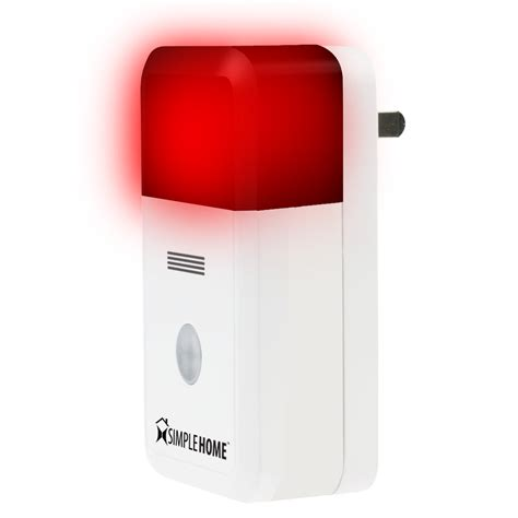 smart wi fi alarm siren go simple home